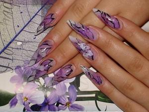 Красота основной  плюс наращенных ногтей
