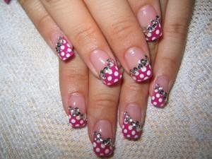 нарощенные ногти гель