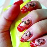 Ногти закругленный квадрат