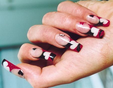 интересный дизайн ногтей фото: