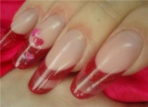 овальные ногти гелиевый дизайн