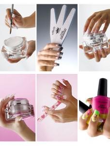 Инструкция по коррекции наращенных ногтей