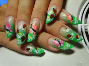 цвета лаков для ногтей