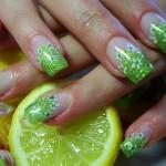 Фото ногтей с гелиевым наращиванием