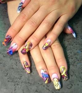 Узоры на ногтях для начинающих - красиво и просто