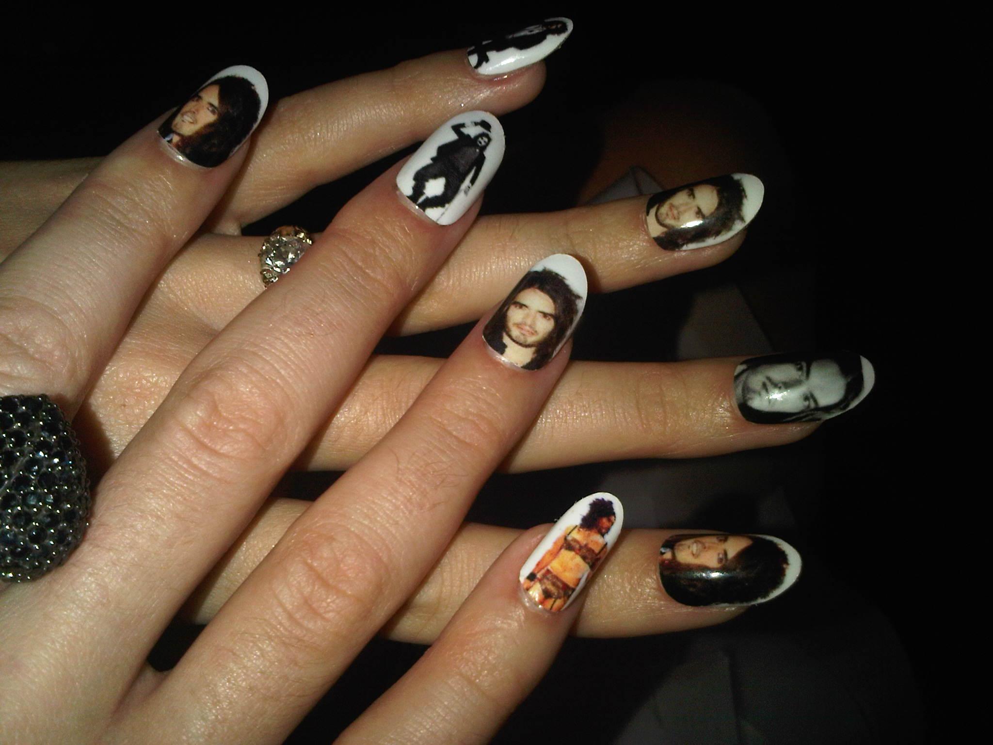 Интересный дизайн ногтей