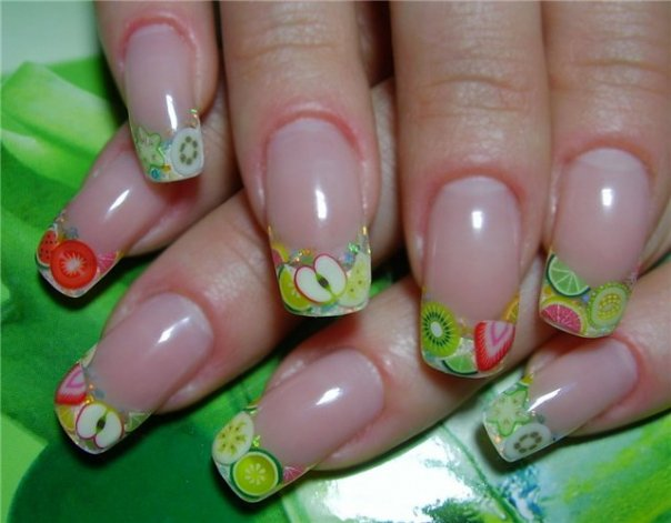 Яркие летние дизайны ногтей фото