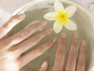 Ванночка с морской солью