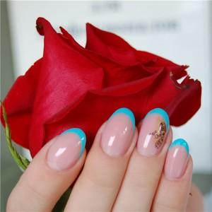 Красивый маникюр на коротких ногтях