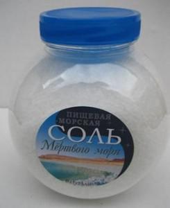 Отбеливание ногтей с помощью морской соли