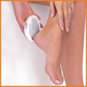 Удаление огрубевшей кожи ступней