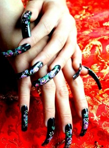 Миндалевидная форма ногтей фото | Миндалевидная форма ногтей
