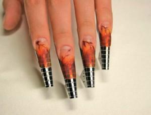 Наращивание ногтей на формах гелем фото | Наращивание ногтей на формах гелем