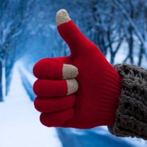 Используйте перчатки по погоде и с кожей ваших рук будет все хорошо